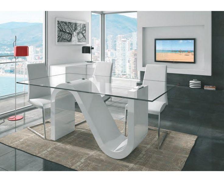 Las 25 mejores ideas sobre sillas modernas de comedor en - Sillas comedor blancas modernas ...