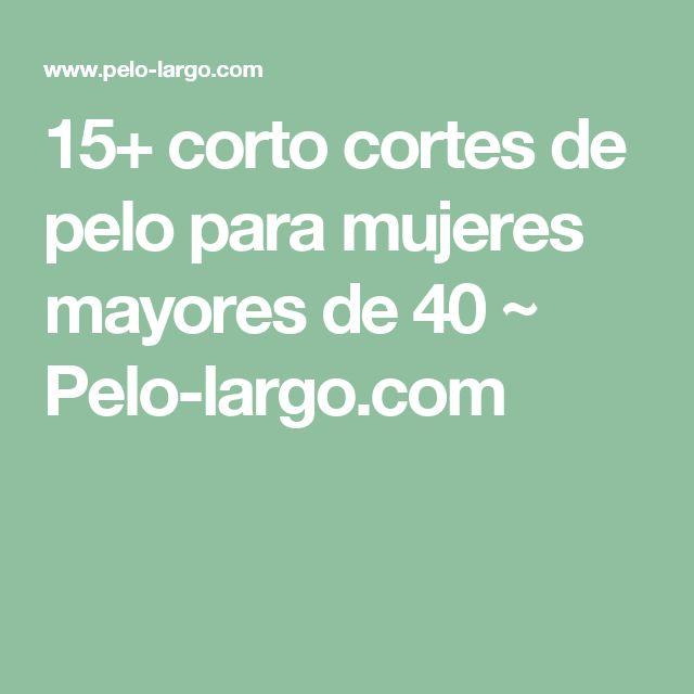 15+ corto cortes de pelo para mujeres mayores de 40 ~ Pelo-largo.com