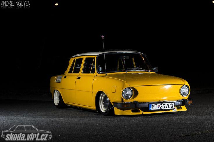 Škoda 110 SALAMANDER stovky skodavirt