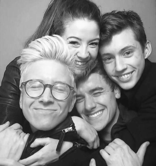 Zoe, Conner, Troye & Tyler
