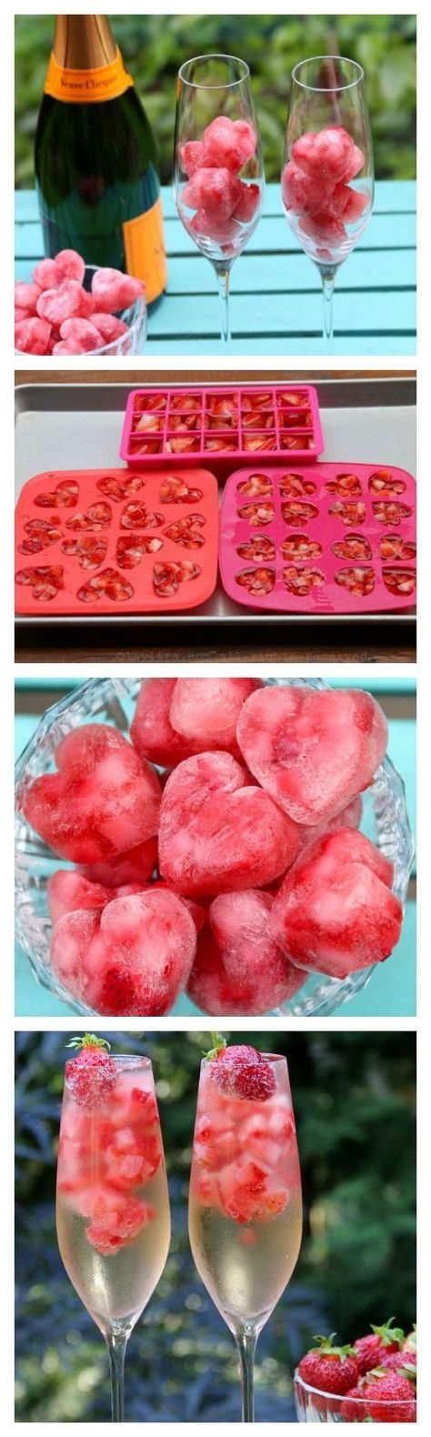 Melone - Sirup - Erdbeeren...