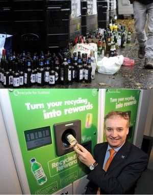 Scotland's Recycle and Reward Initiative - Cash for cans and bottles