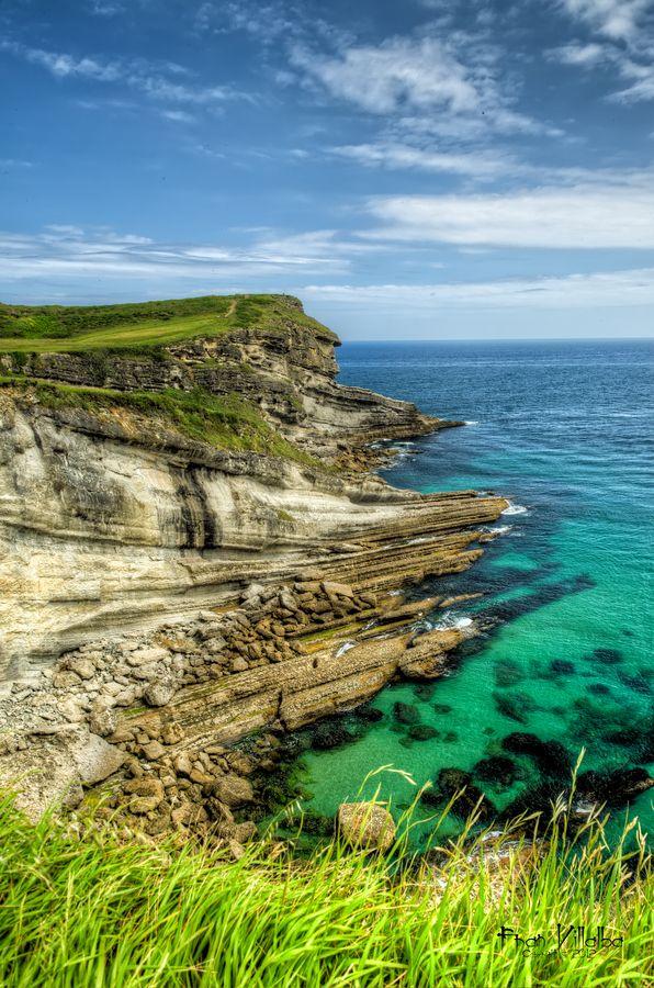 Cliff in Santander, Cantabria   Spain (by Fran Villalba)