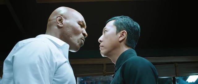 マイク・タイソンVSイップマン 格闘シーン ボクシングVS中国拳法
