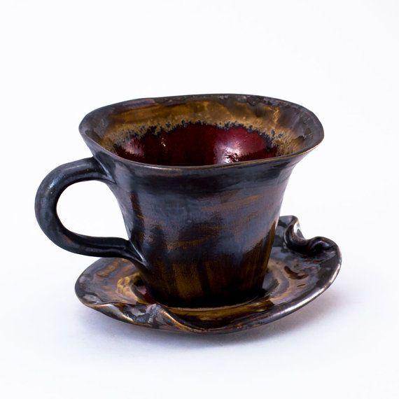 Ceramica tazza di tè in ceramica gres tea freddo di Artmika