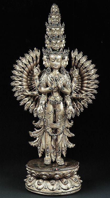 Avalokiteśvara OM MANI PADME HUM