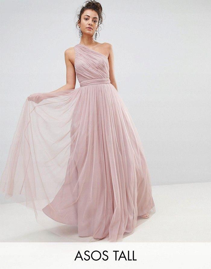 094181386e ASO Tall Brudny róż tiulowa suknia (42) WESELE w 2019