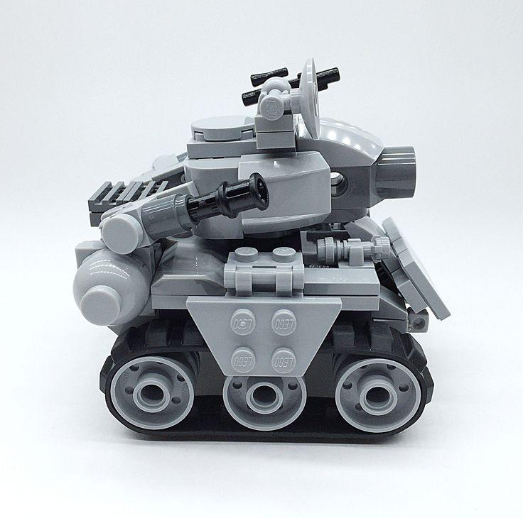 LEGO METAL SLUG_05 | Lego Mech !! More robot,weapon,mecha ar… | Flickr