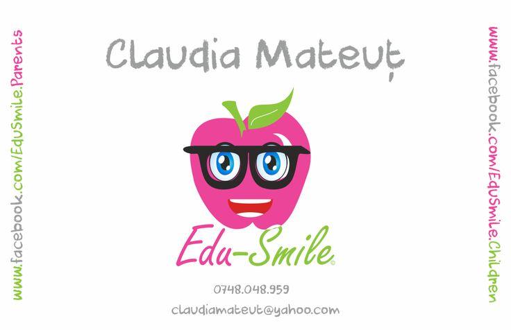 Carti de vizita - Edu-Smile Front - CoMas Advertising