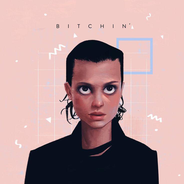 Stranger Things - Bitchin' by janicesung.deviantart.com on @DeviantArt