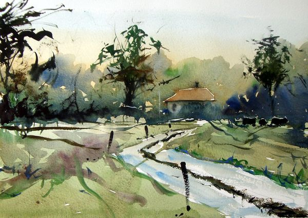I was very fortunate to attend recently a Joseph Zbukvic (pronounced Z-book-vich) watercolour painting course care of EPC Painting Holidays in Girona and Cadeques on the Costa Brava. It was a superb location for painting, or indeed any holiday, and we were lucky with the weather being early October. Anyway,...