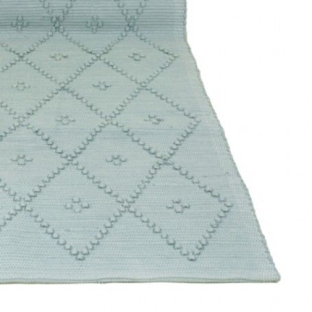 Vloerkleed Diamond  - Mint Large 70 x 140 cm