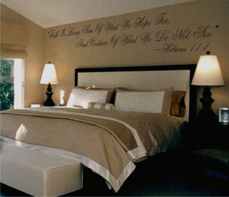 Love This Scripture Above Your Bed 3 Beautiful For A Guest Room As