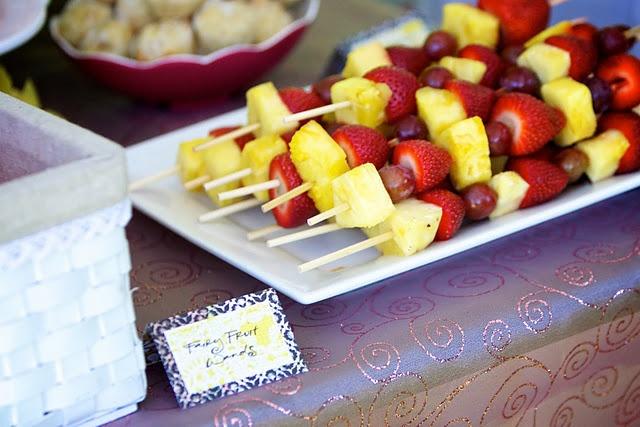 fairy fruit wands | Birthday Season Planning | Pinterest