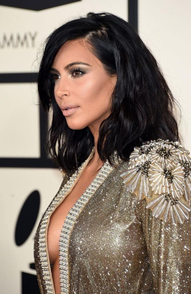 Kim Kardashian - 57th Annual GRAMMY Awards in Los Angeles : Global Celebrtities (F) FunFunky.com