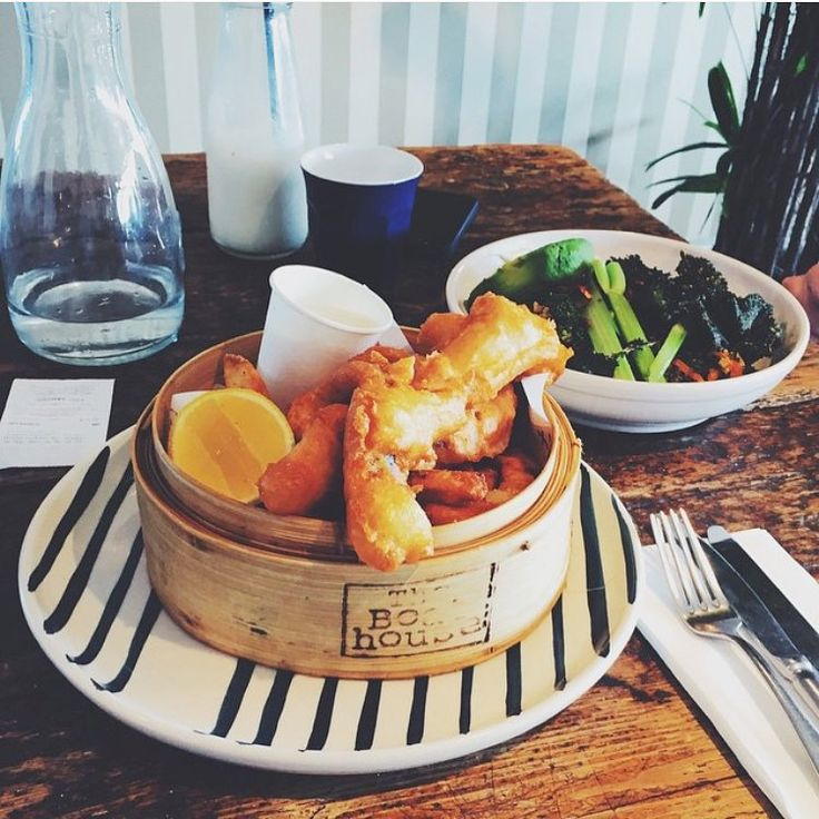 Fish and Chips    photo @lillybites