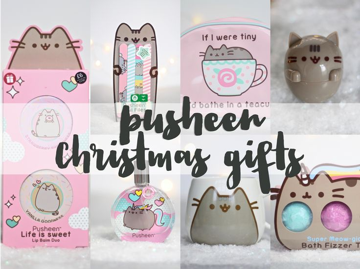 The best Pusheen the cat bath, body and beauty gifts for Christmas 2016 from Marks and Spencer and Boots