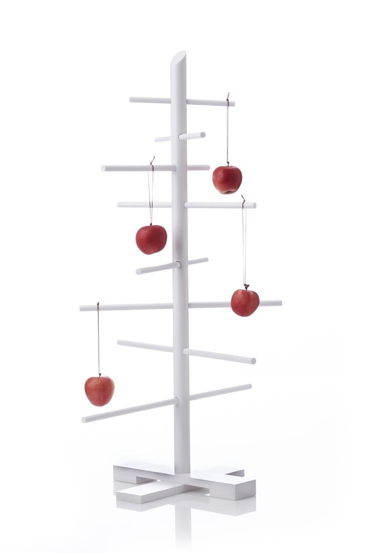 Hvid bordmodel Filigrantræ af Trine Find