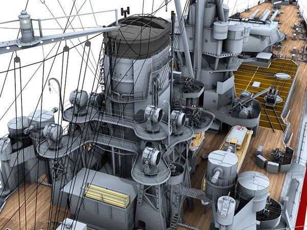 IJN Battleship Nagato on Behance