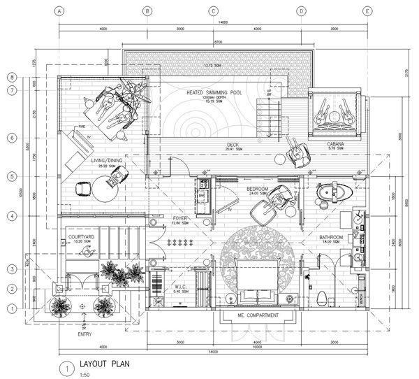Jw Marriott Ubud 2020 Villas Hotel Plan Hotel Room Design Hotel Room Design Plan