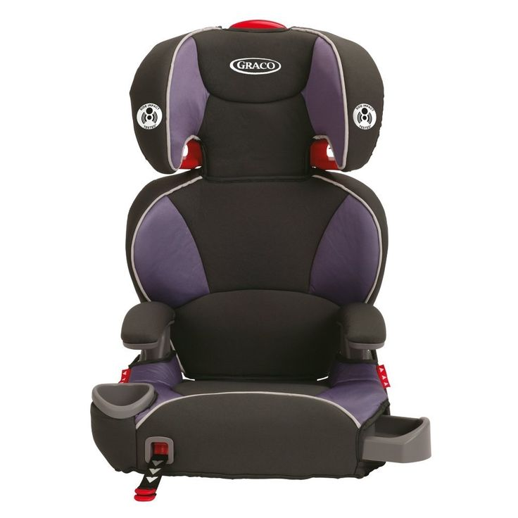 Graco Affix Youth Booster Seat   Suitable for Weight range: 40 - 100lbs  Available Colors: grapeade, atomic, tangerine and pierce   http://babyessentials101.com/top-ten-sellers-booster-car-seats-2015/   #toptenboostercarseats