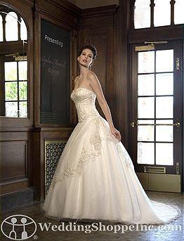 Sophia Moncelli Bridal Gown Kleinfeld exclusive/Style#7403 Size 16 - Used Wedding Dresses | BravoBride