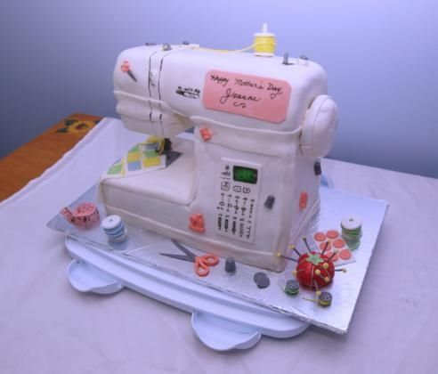 Sewing Machine Cake Pictures Photos And Images For Facebook Tumblr Pinterest And Twitter ...