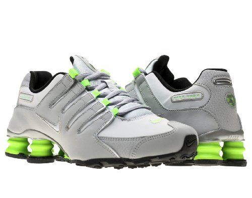 Nike Shox NZ SI Plus Big Kid's Running Shoes (317929 026), 5 One-piece fitted upper for comfort. Four-column Nike Shox system for adaptive impact protection. Phylon midsole in the forefoot for lightweight cushioning. Perforated frame with gilly lacing system for ventilation and a locked-down feel. Rubber Waffle outsole for traction and durability.  #Nike #Shoes