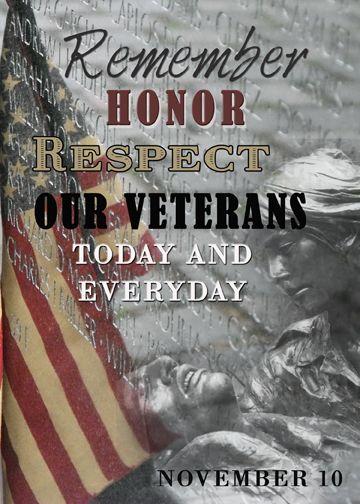 Veterans Days Message