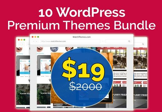 [FEW DAYS LEFT] 10 Premium Web Development Themes Bundle - Only for $19! Download now: http://dealmirror.com/product/10-premium-web-development-themes-bundle/  What includes in this Bundle: 1. Files are delivered as an instant download. 2. The themes come with a multi-use license. 3. Use for multiple commercial or non-commercial websites. 4. You will get a total of 10 Premium products with a clean, modern 5. look and with a well-structured code. 6. Includes  support and free updates 7…