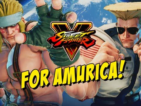 FOR AMURICA! Guile - Street Fighter 5 (Online Matches)