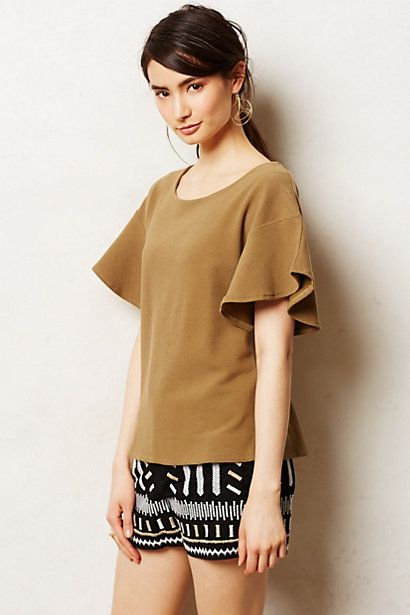Bronzed Swing Tee #anthropologie