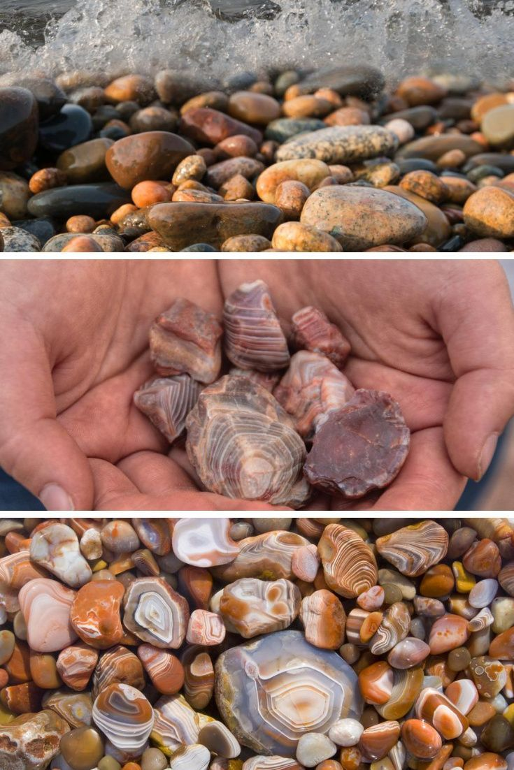 List Of Minerals And Gemstones Found In Michigan Rock Seeker In 2020 Minerals And Gemstones Minerals Lake Superior Agates