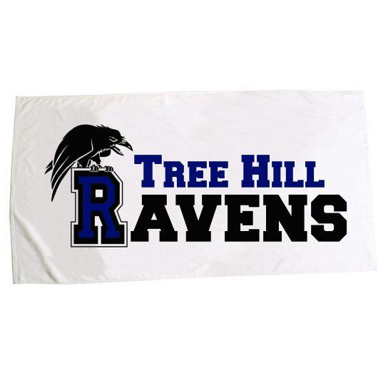 tree hill ravens large beach towel 25 one tree hill - Beach Towels On Sale