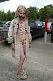 scary little girls halloween costume