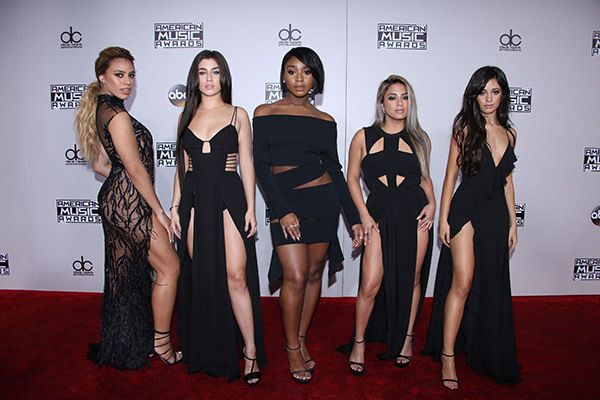 Fifth Harmony attends the American Music Awards