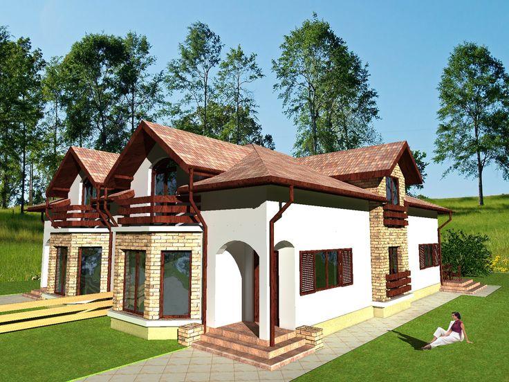 Proiect casa Bianca : Magazinuldeproiecte.ro