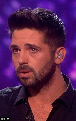 Ben Haenow couldn't hold back his emotion on Saturday night's show: 'For me it all came to a head, thinking back over what I've been through and the reasons I entered the competition'