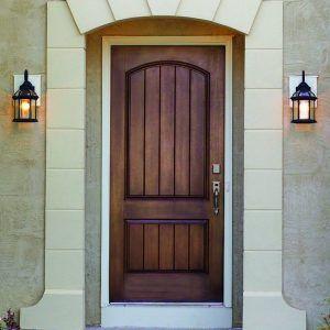 Stainable Fiberglass Exterior Doors