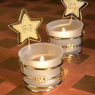 Amazon.com: 50th Anniversary Favors: Gold Star Fiftieth Anniversary Favors, 16: Health & Personal Care