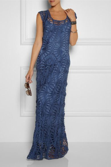 From Lisa Maree Love Hard W13. The Crochet gown, it's a thing. You are welcome.