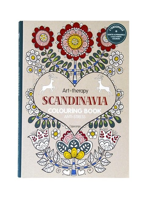 "#mandala #arttherap  ""SCANDINAVIA"" Lasciatevi incantare da questo meraviglioso assortimento di motivi celebranti il fascino dell'arte scandinava. Liberate il vostro lato creativo nel ricoprire le pagine di colori sgargianti. Questo stile, così particolare e intrigante, attinge la sua iconografia alla natura e al folclore tradizionale. Il modo perfetto per tenere la vostra mente concentrata, rilassandola allo stesso tempo attraverso la creazione artistica."
