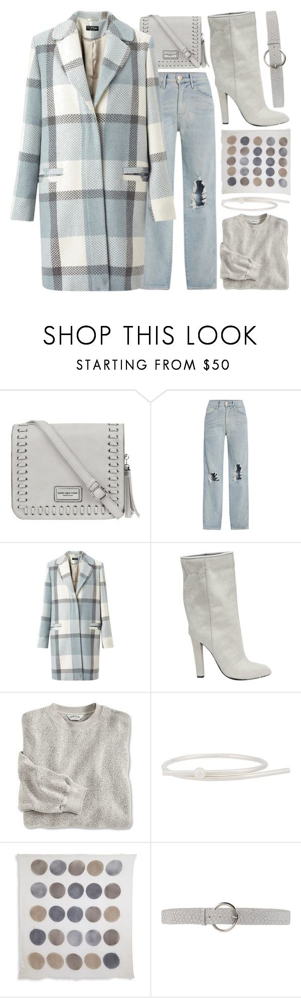 """""""mist"""" by foundlostme ❤ liked on Polyvore featuring Andrew Marc, 3x1, Miss Selfridge, Alexander Wang, Sara Robertsson, Peserico, Orciani, outfitonly and plaidcoats"""