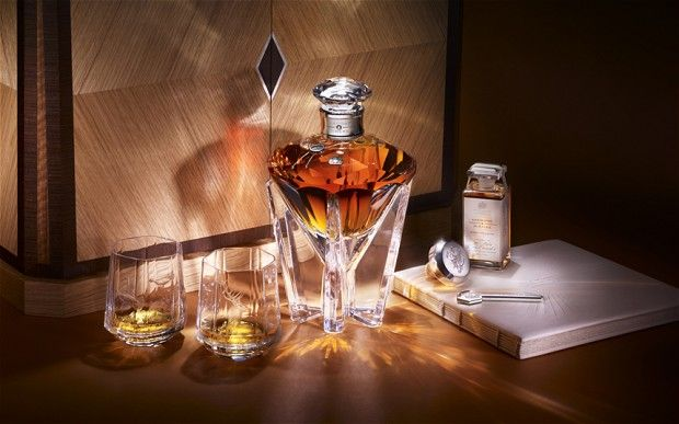 Each bottle of diamond Jubilee Whisky costs $120,000 pounds.