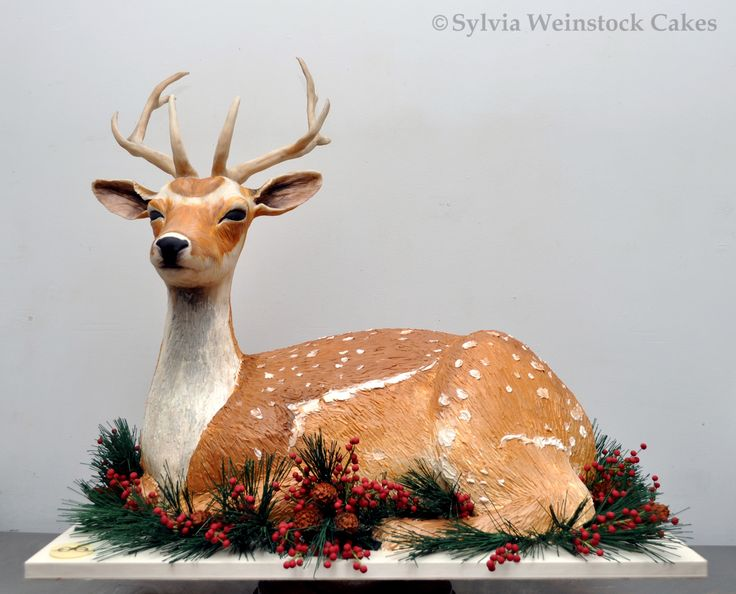 Only Sylvia Weinstock could create a cake that looks so real!
