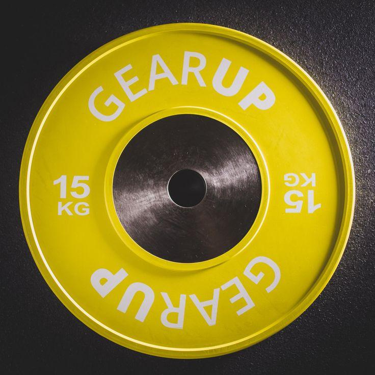 Τα Competition Plates της GEARUP είναι κατασκευασμένα σύμφωνα με τους κανονισμούς που έχει θεσπίσει η Διεθνής Ομοσπονδία Άρσης Βαρών (IWF).