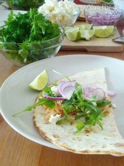 Kuracie tacos podľa Nici Wickes