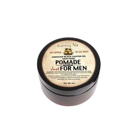 Sunny Isle Jamaican Black Castor Oil Hair Pomade for Men, 4 Oz