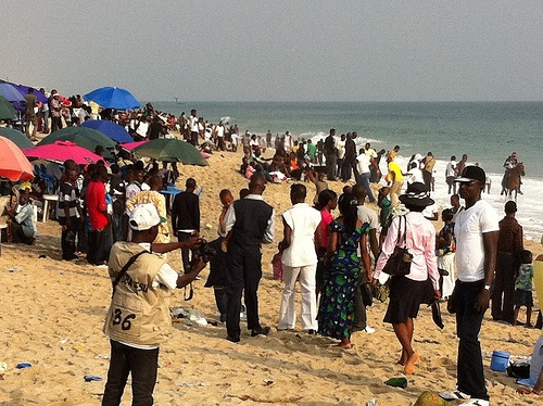 Kuramo Beach, Victoria Island Lagos Nigeria
