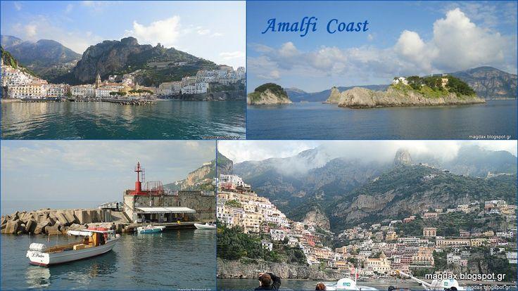 Ακτή Αμάλφι από την θάλασσα! AMALFI COAST by the sea